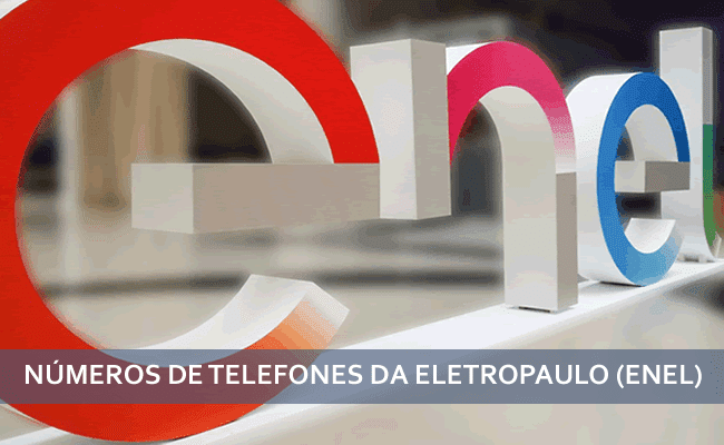 telefone eletropaulo