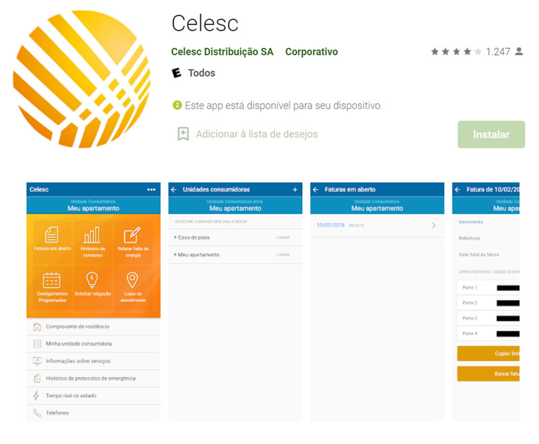 app Celesc